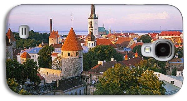 High Angle View Of A City, Tallinn Galaxy S4 Case
