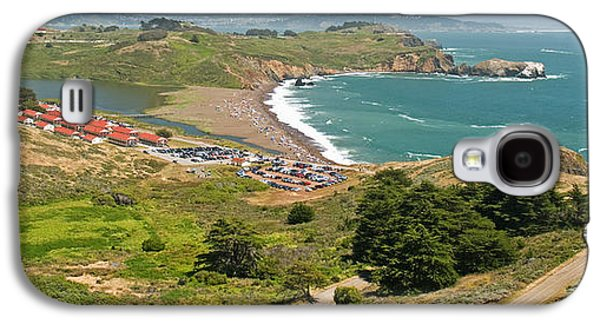 High Angle View Of A Coast, Marin Galaxy S4 Case by Panoramic Images