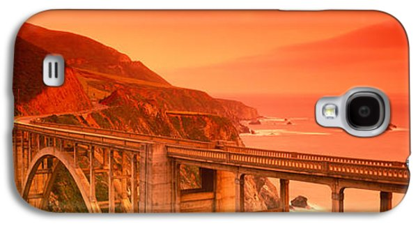 High Angle View Of An Arch Bridge Galaxy S4 Case