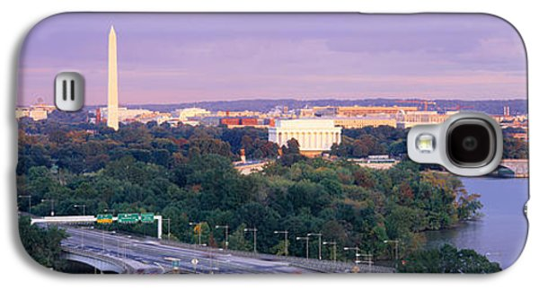 High Angle View Of Monuments, Potomac Galaxy S4 Case by Panoramic Images