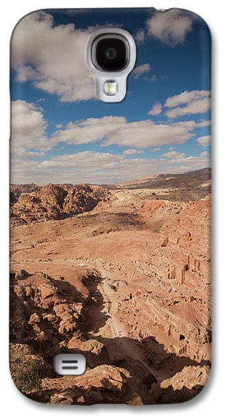 High Angle View Of Petra Valley Galaxy S4 Case