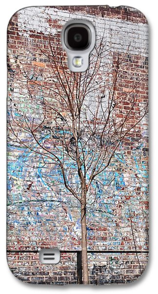 High Line Palimpsest Galaxy S4 Case by Rona Black
