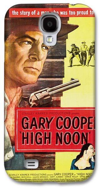 High Noon - 1952 Galaxy S4 Case by Georgia Fowler