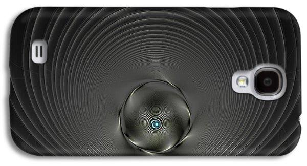 High Tech Dark Silver And Black Galaxy S4 Case