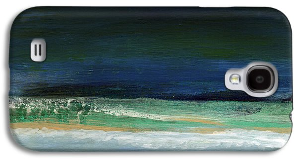 High Tide- Abstract Beachscape Painting Galaxy S4 Case