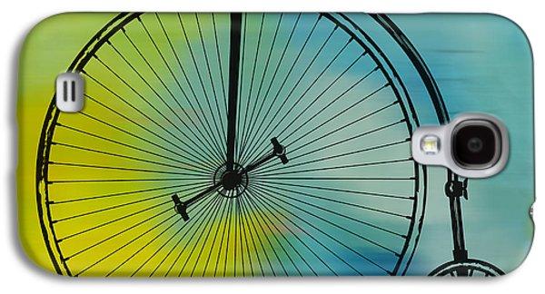 High Wheel Bicycle Galaxy S4 Case