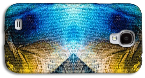 Higher Love Art By Sharon Cummings Galaxy S4 Case by Sharon Cummings