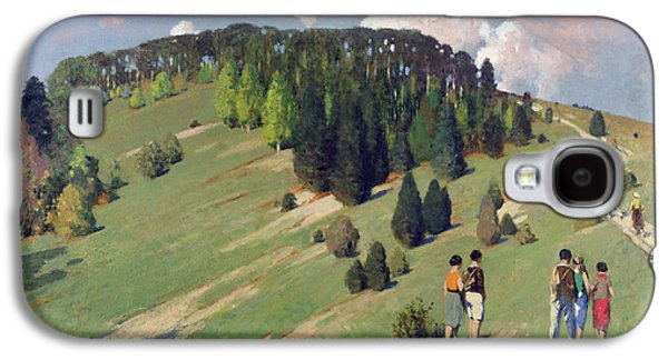 Hikers At Goodwood Downs Galaxy S4 Case