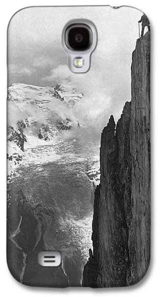 Hikers In The Alps Galaxy S4 Case