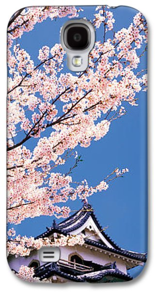 Hikone Castle W\cherry Blossoms Shiga Galaxy S4 Case by Panoramic Images