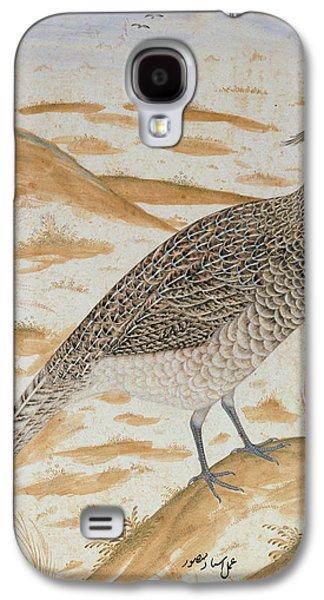 Himalayan Cheer Pheasant, Jahangir Period, Mughal, C.1620 Watercolour Galaxy S4 Case