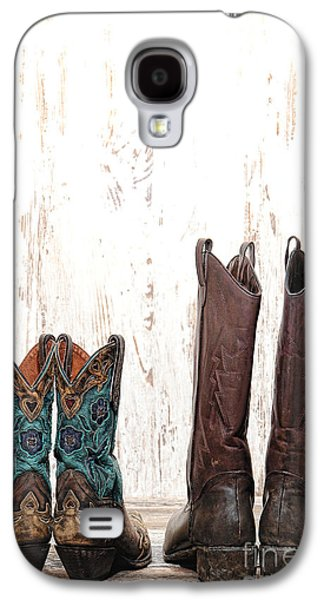 His And Hers Galaxy S4 Case by Olivier Le Queinec