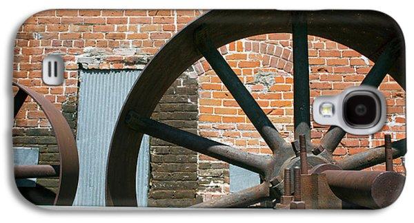 Historic Flour Mill Machinery Galaxy S4 Case