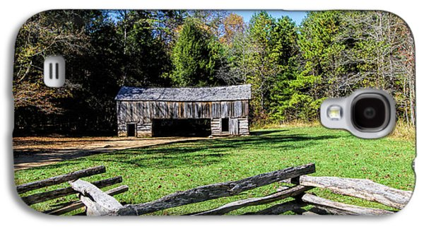 Historical Cantilever Barn At Cades Cove Tennessee Galaxy S4 Case