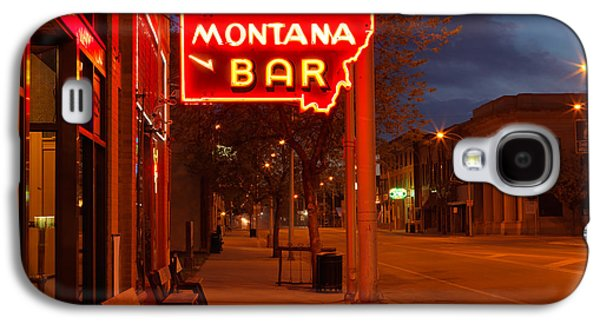 Historical Montana Bar Galaxy S4 Case