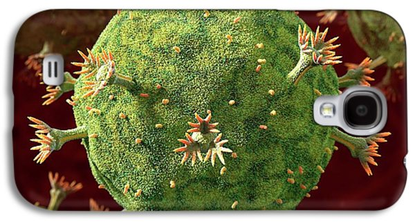Hiv Particles Galaxy S4 Case by Animated Healthcare Ltd