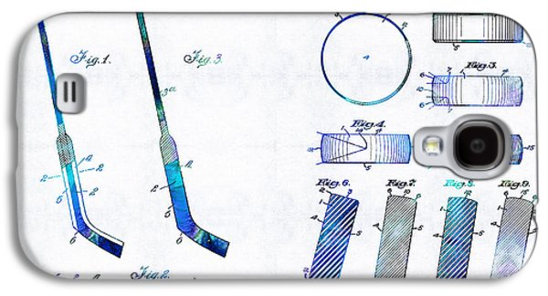 Hockey Art - Stick And Puck - Sharon Cummings Galaxy S4 Case