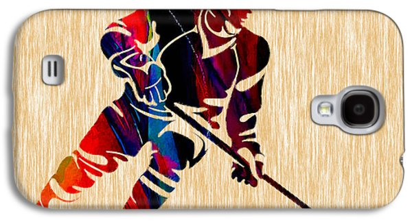 Hockey Player Galaxy S4 Case by Marvin Blaine