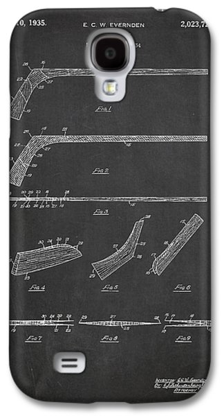 Hockey Stick Patent Drawing From 1934 Galaxy S4 Case by Aged Pixel