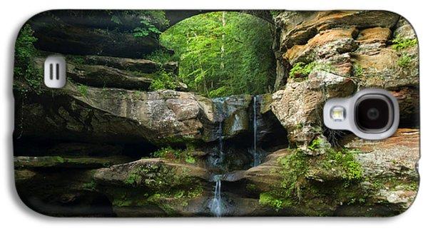 Hocking Hills Waterfall 1 Galaxy S4 Case