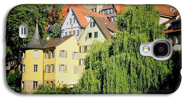 House Galaxy S4 Case - Hoelderlin Tower In Lovely Tuebingen Germany by Matthias Hauser