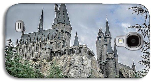 Hogswarts Castle  Galaxy S4 Case by Edward Fielding