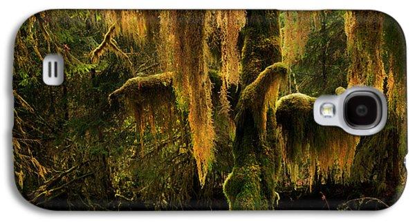 Hoh Rain Forest Galaxy S4 Case by Leland D Howard