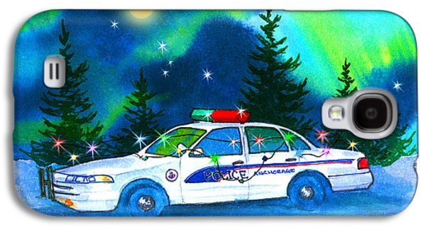 Holiday Cheer For Our First Responders Galaxy S4 Case
