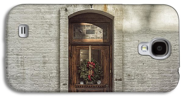Holiday Door Galaxy S4 Case by Terry Rowe