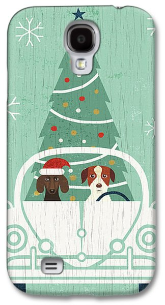 Holiday On Wheels Xiii Galaxy S4 Case by Michael Mullan