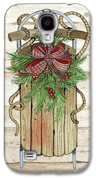 Holiday Sports II On Wood Galaxy S4 Case by Kathleen Parr Mckenna
