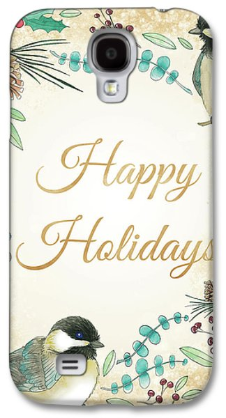 Holiday Wishes II Galaxy S4 Case