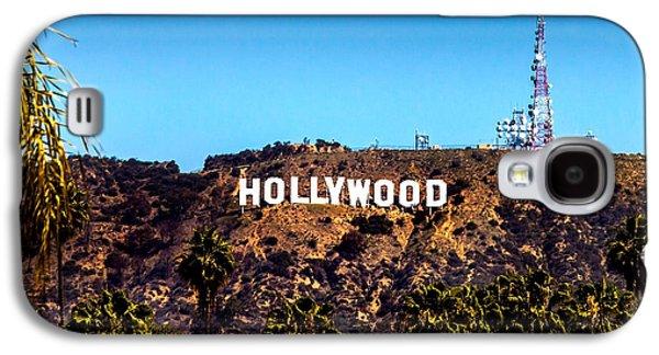Hollywood Sign Galaxy S4 Case by Az Jackson
