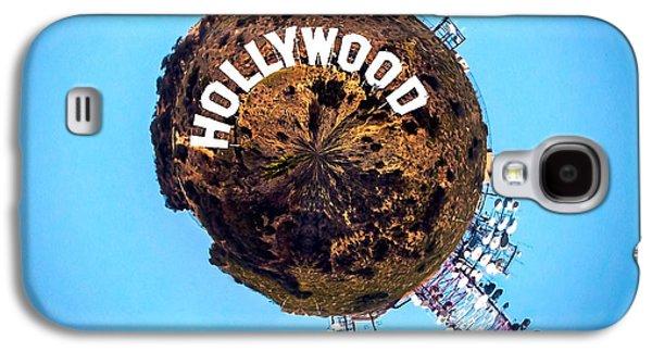 Hollywood Sign Circagraph Galaxy S4 Case by Az Jackson