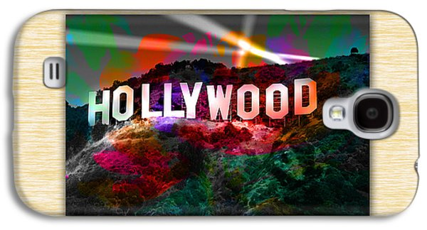 Hollywood Sign Galaxy S4 Case by Marvin Blaine