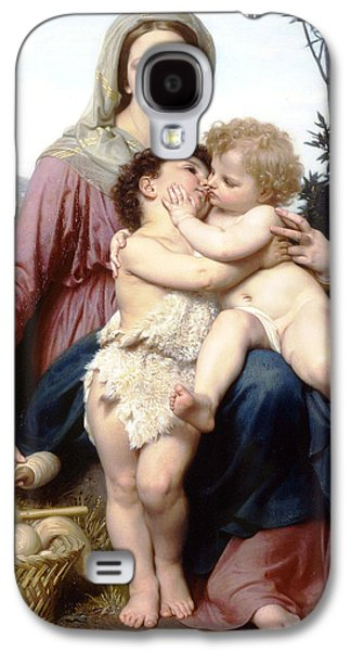 Holy Family Galaxy S4 Case by William Bouguereau