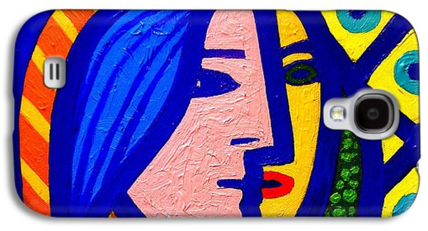 Homage To Pablo Picasso Galaxy S4 Case by John  Nolan