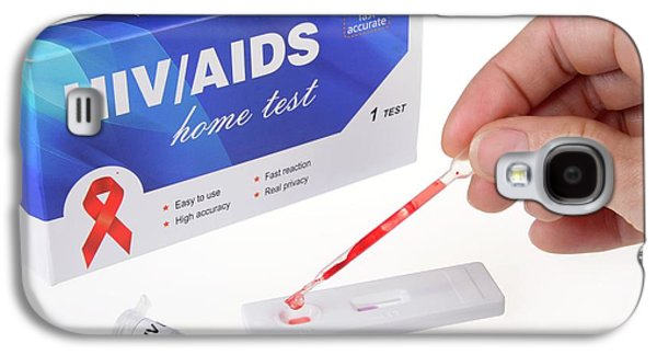 Home Blood Test Kit For Hiv Aids Galaxy S4 Case by Cordelia Molloy