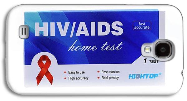 Home Hiv Test Galaxy S4 Case by Cordelia Molloy
