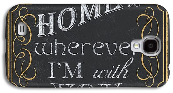 Home Is... Galaxy S4 Case by Debbie DeWitt
