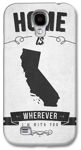 Home Is Wherever I'm With You California - Gray Galaxy S4 Case