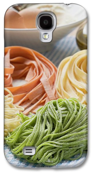 Home-made Pasta With Ingredients Galaxy S4 Case