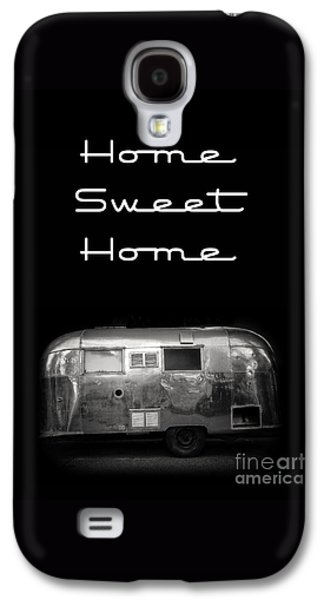 Home Sweet Home Vintage Airstream Galaxy S4 Case by Edward Fielding