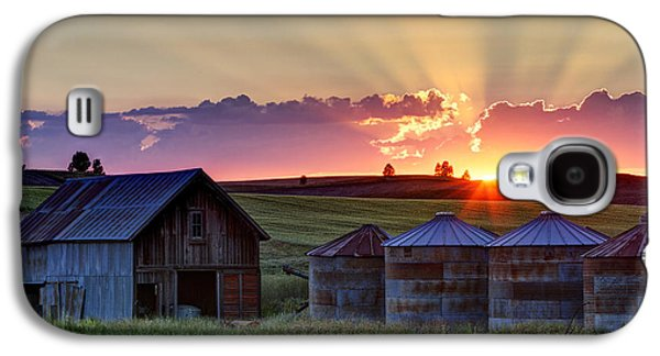 Home Town Sunset Galaxy S4 Case by Mark Kiver