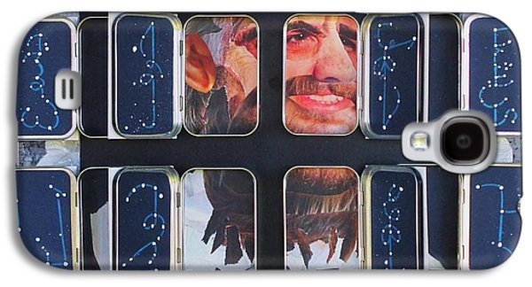 Homeland Security Phase 2 The Face Of Terror Full-blown Galaxy S4 Case by Mack Galixtar