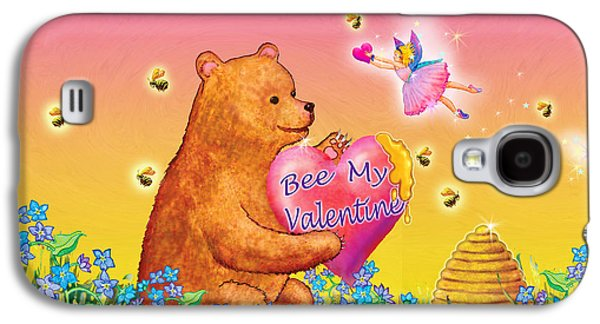 Honey Bear And Fairy Valentine Galaxy S4 Case