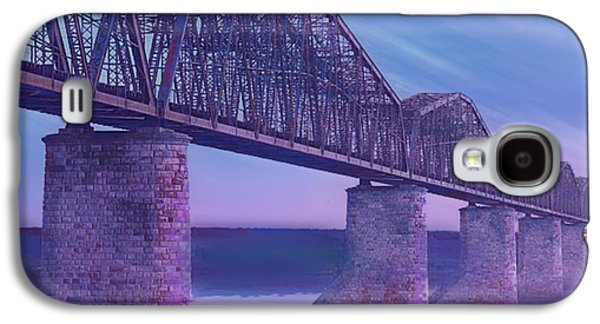 Hope Bridge Soft Galaxy S4 Case by Tony Rubino