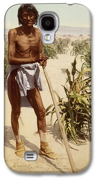 Hopi Man With A Hoe Galaxy S4 Case