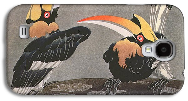 Hornbills Galaxy S4 Case by Ethleen Palmer