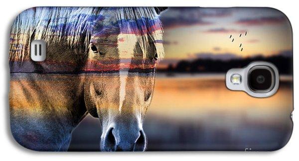 Horse 6 Galaxy S4 Case by Mark Ashkenazi